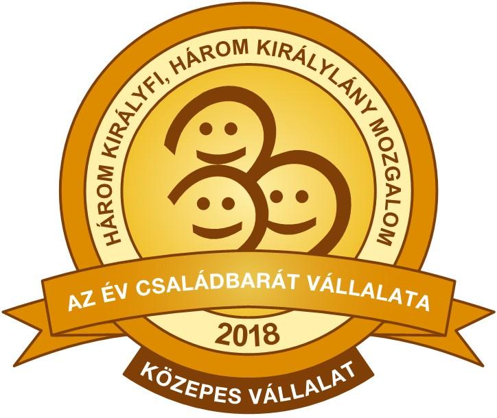 Az Év Családbarát Vállalata 2018